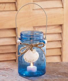 Miniature Beach Jars