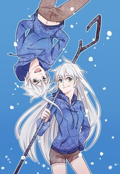 rise of the guardians, jack frost, genderbend