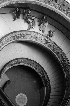 Vatican stairs, 1936 bySteefZoetmulder