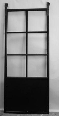 Bekijk de foto van Loftdeur met als titel Betaalbare stalen schuifdeur - Loftdeur. Op maat gemaakt, inclusief glas voor betaalbare prijzen! en andere inspirerende plaatjes op Welke.nl.