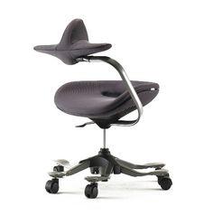 Ergonomic Chair, Chair Design, Cribs, Indoor, Wood, Interior, Office Chairs, Furniture, Evolution