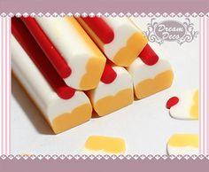 Cupcake Cake Polymer Clay Cane / Fimo Cane Stick For Nail Art Decoration Miniature Food / Dessert / Cake Decoration F006. $0.99, via Etsy.