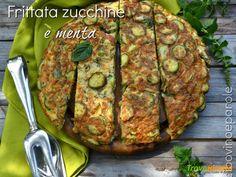 FRITTATA ZUCCHINE E MENTA  #ricette #food #recipes Baked Potato, Potatoes, Meat, Baking, Ethnic Recipes, Potato, Bakken, Backen, Baked Potatoes