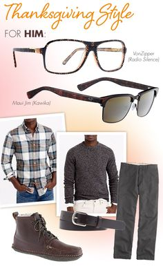 Turkey Day Frames + Garb for Cozy Style: http://eyecessorizeblog.com/2014/11/turkey-day-frames-garb-cozy-style/