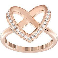 1dffd9f84 Swarovski Cupidon Ring $99.00 Jewelry Rings, Jewellery, Nice Jewelry,  Ribbon Jewelry, Crystal