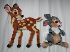 Bambi and Thumper Hama beads by Thea P.