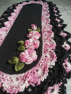 Annie's Crochet, Unique Crochet, Crochet World, Crochet Home, Crochet Doilies, Crochet Flower Patterns, Crochet Designs, Crochet Flowers, Knitting Patterns