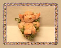Ooak 1.85 Miniature little magic Fairy-Elf  full by ArtistaToscana