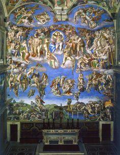 ¿Sabías qué...? Frescos de la Capilla Sixtina de Miguel Ángel Buonarroti</h4>   José Miguel Hernández Hernández