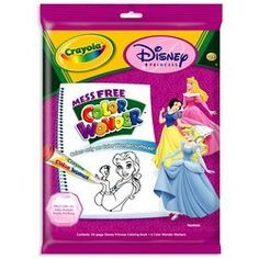 """Crayola Color Wonder Disney Princess Coloring Book & Markers by Binney & Smith. $12.99. Color Wonder offers a """"no mess"""" activity for children and requires little to no supervision."""