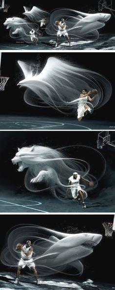 e19abd78afc Basketball player spirits Graphic Design Inspiration