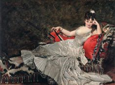 1876   Carolus-Duran - Mademoiselle de Lancey