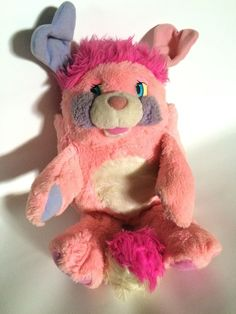 "vintage 15"" pink party popple plush 