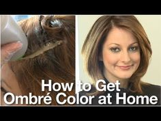 Dye Your Hair Ombre Shade Home Sophie Hairstyles - 48671 - Frauen Haar Modelle At Home Hair Color, Color Your Hair, Ombre Hair Color, New Hair Colors, Hair Color For Black Hair, Hair Color Balayage, Hair Colour, Hair Highlight Kit, Platinum Hair Color