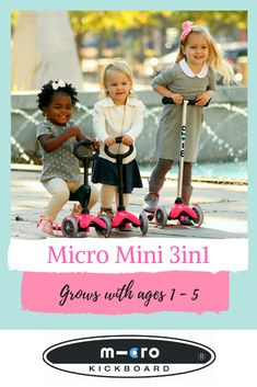 The Micro Mini Deluxe grows with your child through ages making it one of their most beloved toys. Our top-rated scooters are designed in Switzerland and beloved by families everywhere. This is without a doubt one of the top toys for kids ages Best Toddler Gifts, Best Kids Toys, Heart For Kids, Our Kids, Micro Kickboard, Parents Choice, Kids Scooter, Ride On Toys, Top Toys