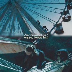 Tris. Tobias. Divergent. Insurgent. Allegiant.