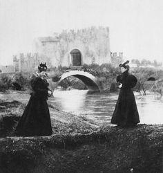 Giuseppe Primoli, Ponte Nomentano, 1896 Pinned by Margaret Rasor Fine Art Photo, Photo Art, Henry Jackson, Best Cities In Europe, Trieste, Old Photos, 19th Century, City, Photography