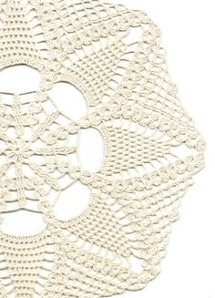 Crochet doily lace doily table decoration by faustapink900 on Etsy, £7.00