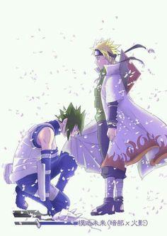 finally Sasuke see's Naruto's true power