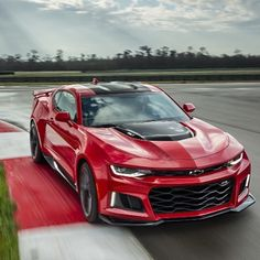 Introducing the 2017 #Camaro #ZL1. Designed to dominate in any setting.