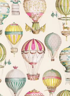 L'Envol Multicolore wallpaper by Manuel Canovas