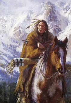 """""""Warriors of the High Country, Ute, Native American paintings, James Ayers Studios"""" by JamesAyers Native American Actors, Native American Horses, Native American Warrior, Native American Paintings, Native American Pictures, Native American Wisdom, Native American Beauty, American Indian Art, Native American History"""