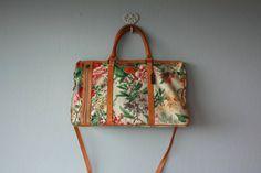floral handbag 1980s