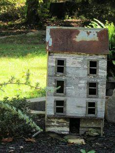 Primitive Garden...house.