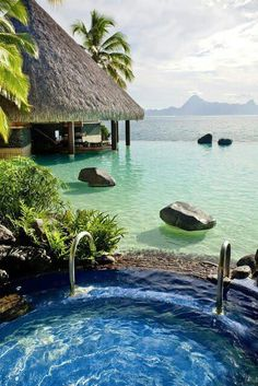 Bora Bora #Beautiful #ColorfulVacations