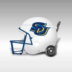 Southern University Jaguars White Football Helmet Cooler