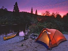 To do this summer - Canot Camping !!