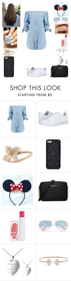 """""""Disneyland with Olivia holt and her friends"""" by sabbyannlynn12 ❤ liked on Polyvore featuring interior, interiors, interior design, home, home decor, interior decorating, Boohoo, adidas, Pasquale Bruni and Forever 21"""