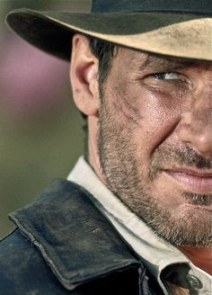Indy.      Harrison Ford as Indiana Jones.