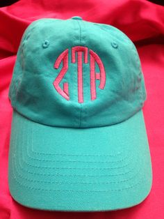 Sorority hat with letters or monogram by PersonalizedSunshine, $17.99