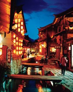 the Old Town of Lijiang, designated a World Heritage Site in 1997