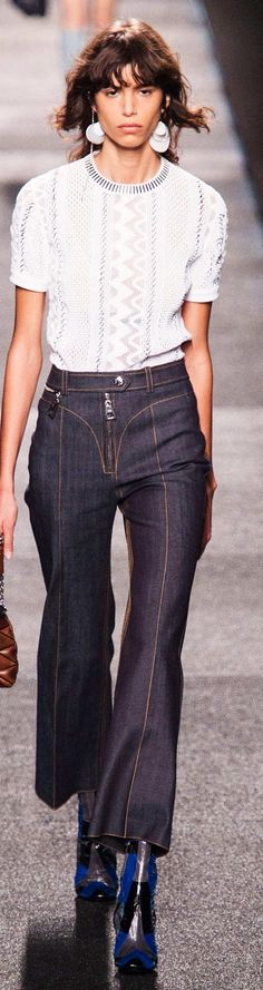 Louis Vuitton Collection Spring 2015 - pin courtesy of James Mitchell