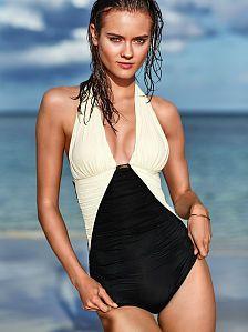a13a88bb57f Halter One-piece Victoria Secret Swimwear