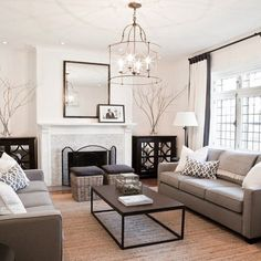 Beige/Gray Toned Livingroom