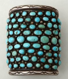 Turquoise Navajo Cuff