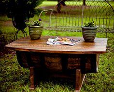 Whiskey Barrel Coffee Table Whiskey Barrel Coffee Table, Wine Decor, Coffee  Tables For Sale
