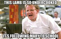 Gordon Ramsey says the darnedest things