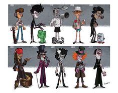 Johnny Depp - evolution <3