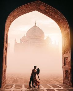 Travel couple goals created by ↡ Made at the Taj Mahal, India and . - Most Beautiful Places in the World Travel Pose, Travel Goals, Travel Photos, Couple Photography Poses, Travel Photography, Wedding Photography, Beautiful Hotels, Beautiful Places, Taj Mahal