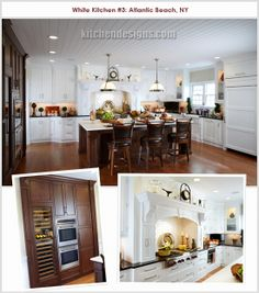 White and stainless kitchen by Kitchen Designs by Ken Kelly - see ...