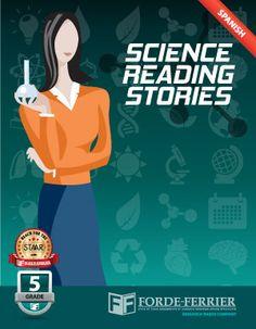 Texas STAAR Science Reading Stories: Grade 5 Workbook (Spanish)