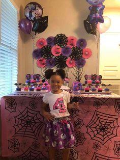 Christina 's Birthday / Vampirina - Photo Gallery at Catch My Party Girls 3rd Birthday, Kylie Birthday, Tea Party Birthday, Halloween Birthday, 4th Birthday Parties, Party Party, Birthday Ideas, Fiesta Baby Shower, Birthday Party Decorations Diy