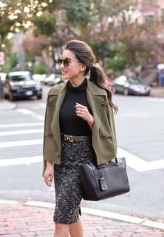 stylish fall work clothes by extra petite fashion blog