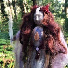 Alpaca medicine doll Sacred Familiar