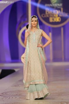 Sana Abbas Bridal Collection At Pantene Bridal Couture Week 2013 Pinned by Zartashia