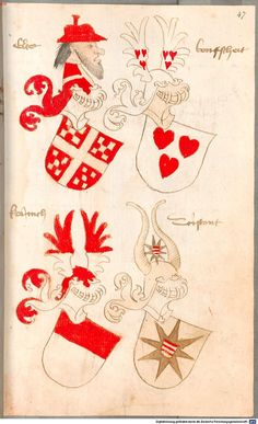 Bruderschaftsbuch des jülich-bergischen Hubertusordens Niederrhein, um 1500 Cod.icon. 318  Folio 47r